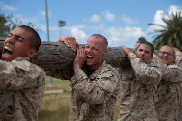 Injured Marine recruit finally allowed to go home after spending nearly 500 days at boot camp