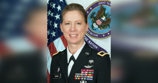 Army selects first female general to command infantry division