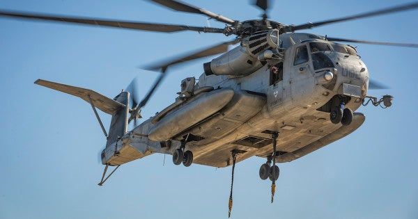 Helicopter catches fire during training flight near Marine Corps Air Station Miramar