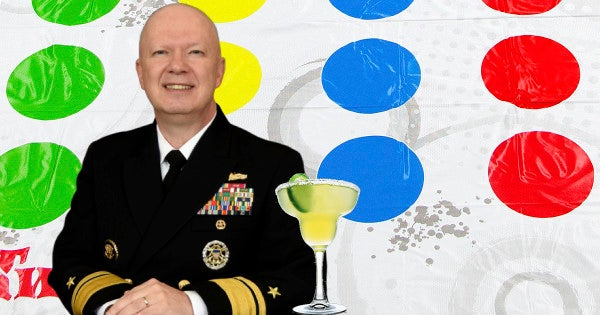 Naval War College president under investigation for allegedly turning his office into a margarita-fueled Twister zone