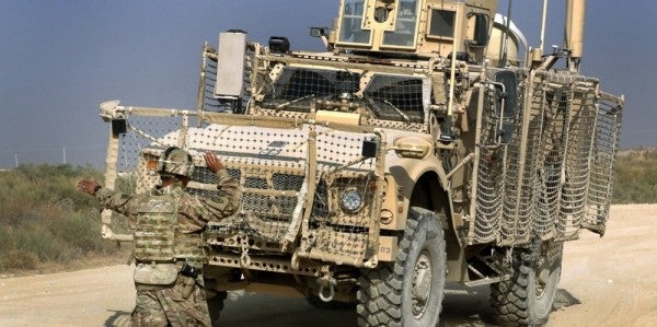 No US troops killed after US armored vehicle hits roadside bomb in Niger