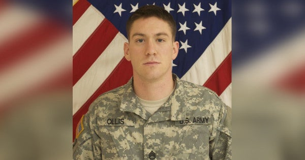 Soldier posthumously receives Distinguished Service Cross for sacrificing himself to save a Polish soldier in Afghanistan