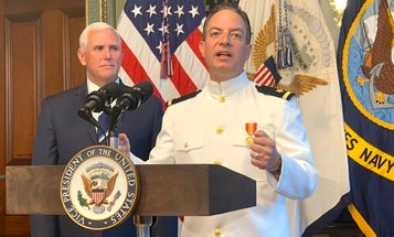Reince Priebus's Navy service is going to be awkward for everyone involved