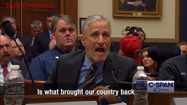 Watch an emotional Jon Stewart shame Congress for failing 9/11 first responders