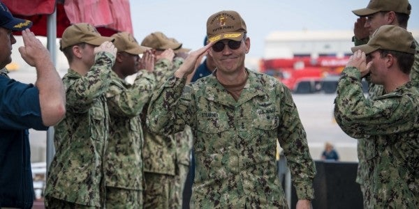Death of three-star Navy admiral who led 5th Fleet ruled a suicide