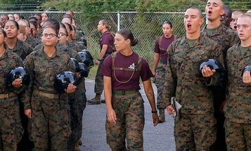 Lawmakers may force the Marine Corps to make boot camp coed in the next 5 years