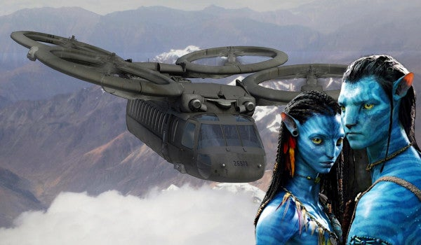 Consider this a reminder that the Army's search for a new scout helo was definitely inspired by 'Avatar'