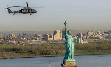 New York man arrested for pointing laser at Army National Guard helicopter