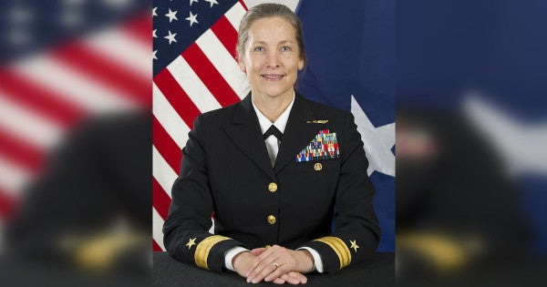 The Navy has replaced its alleged day-drinking admiral at its War College with its first female admiral