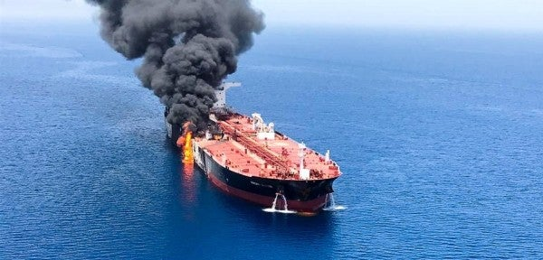 Tankers attacked in the Gulf of Oman to be inspected off the coast of the United Arab Emirates