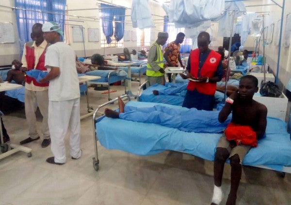 Triple suicide attack kills at least 30 in Nigeria