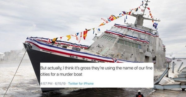 Minnesota Democratic Party staffer under fire for calling USS Minneapolis-Saint Paul a 'murder boat'