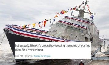 Minnesota Democratic Party staffer under fire for calling USS Minneapolis-Saint Paul a 'murder boat'