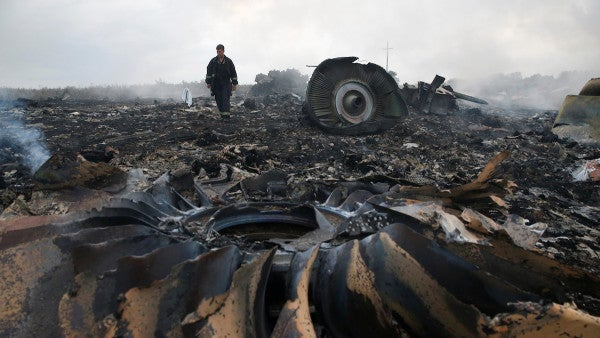 3 Russians and a Ukrainian face murder charges in 2014 downing of MH17 over Ukraine