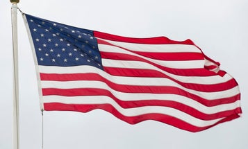 A Navy veteran could lose his home in a dispute over a flagpole