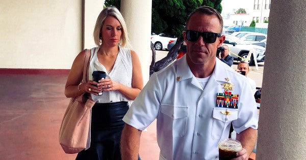 Navy SEAL sniper testifies he fired near innocent civilian Eddie Gallagher allegedly shot moments later