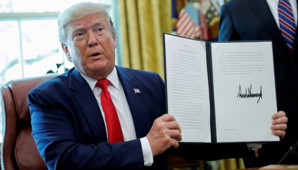 Trump imposes new sanctions on Iran, including Supreme Leader Ayatollah Khamenei