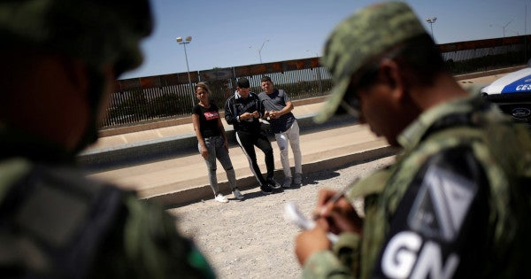 Mexico says it has deployed 15,000 forces in the north to halt US-bound migration
