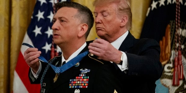 'This country is worthy of any sacrifice' — David Bellavia receives the Medal of Honor