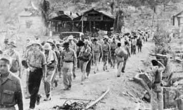 A 100-year-old former WWII POW describes how he narrowly escaped the Bataan Death March