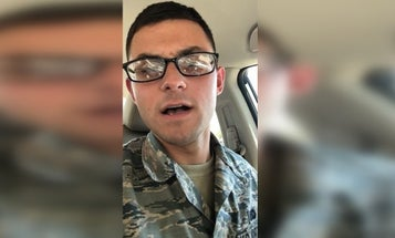 The Air Force is investigating an airman over a homophobic YouTube rant