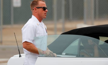 Marine attached to SEAL platoon testifies that Eddie Gallagher didn't stab wounded ISIS fighter