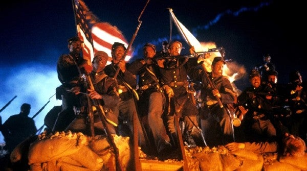 'Glory' and the first black soldiers to fight in the Union Army are returning to theaters after 30 years