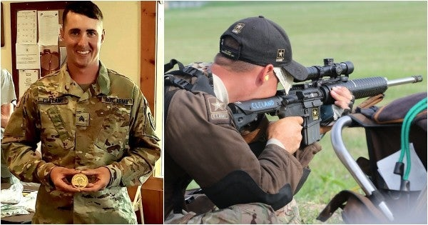 This Army sergeant just nailed the first-ever perfect score in a service rifle shooting competition