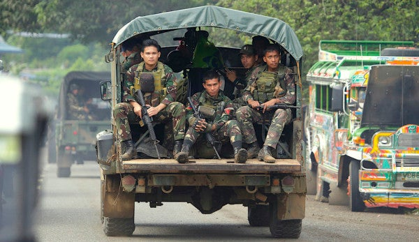 ISIS claims responsibility for Philippine army camp bombing that left 5 dead