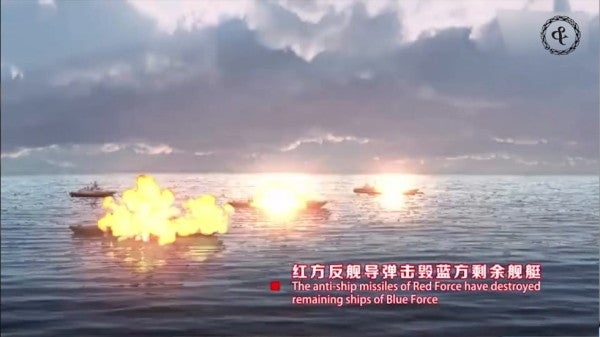 China has reportedly been practicing sinking ships with missiles in the South China Sea