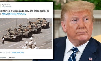 The absurd freakout over Trump wanting tanks for 4th of July is hilarious to watch