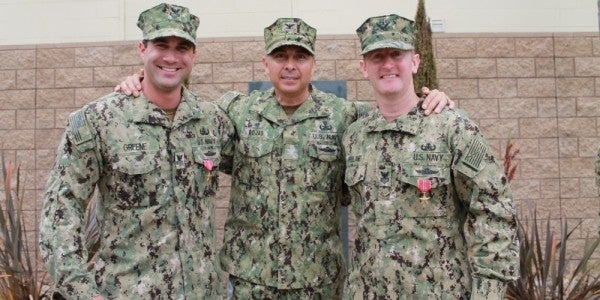 These Navy EOD techs fought off 20 ISIS fighters in a cave during secret night raid