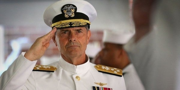 Adm. Bill Moran will not lead the Navy after acknowledging he kept in contact with 'Bad Santa'