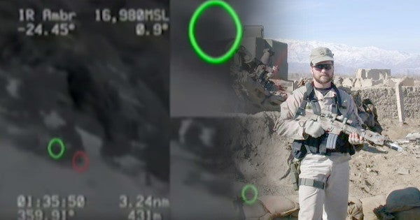 Watch John Chapman's incredible heroics in the first Medal of Honor action ever recorded on video