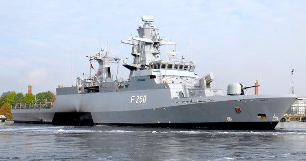 The German navy is building a laser cannon