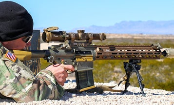 Soldiers will get their hands on the Army's new 7.62mm squad marksman rifle as early as next year