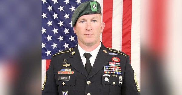 Special Forces sergeant major killed in Afghanistan