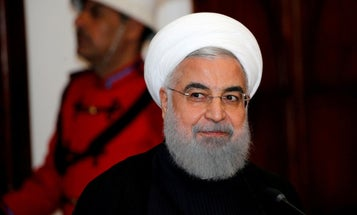 Iranian president says he's willing to negotiate with Trump if sanctions are lifted