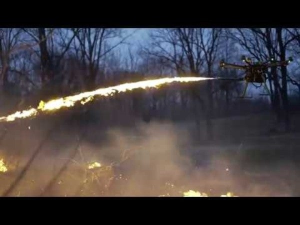 The flamethrower drone conversion kit you never knew you needed is finally here