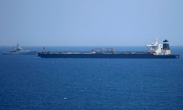 Iran claims it successfully seized a foreign oil tanker in the Gulf