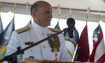 The Navy's top officer had heart surgery last month for a 'pre-existing' medical issue