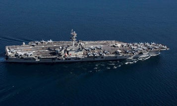 Search underway for sailor who went overboard off USS Lincoln