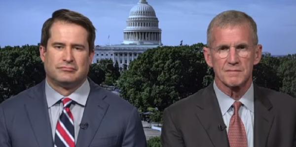 Retired Gen. Stanley McChrystal endorses Marine veteran Seth Moulton for president