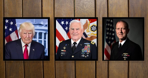 We ran the military chain of command through FaceApp and the results were hilarious