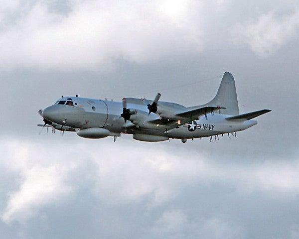 US says Venezuelan fighter 'aggressively shadowed' Navy spy plane