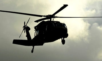 The Army is running a classified mission with black helicopters over Washington, D.C.