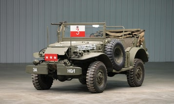 You can now own Gen. Patton's WWII Command Car