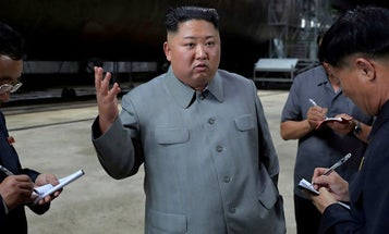 Kim Jong Un: Check out my monster new sub