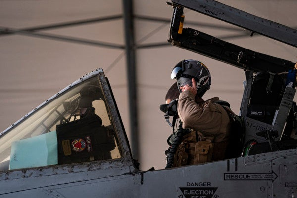 'This is pretty awesome' — A-10 pilots print out custom helmet decals of their squadron patches