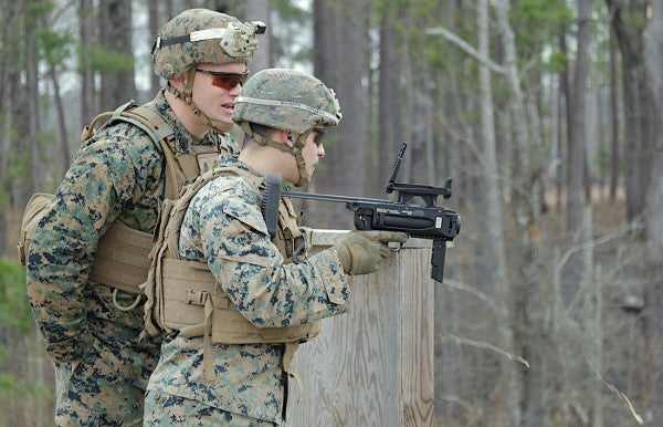 Marines are finally getting their hands on the M320 40mm grenade launcher